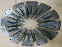 新型双转子电机铁芯